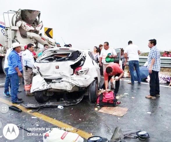 Al menos 10 heridos por accidente en la vía Ocozocoautla – Tuxtla