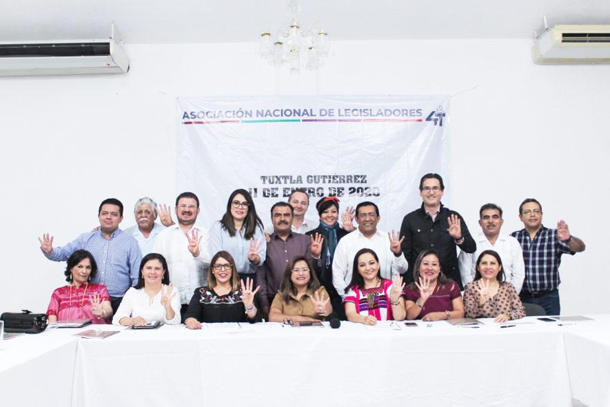 Asociación Nacional de Legisladores de la Cuarta Transformación