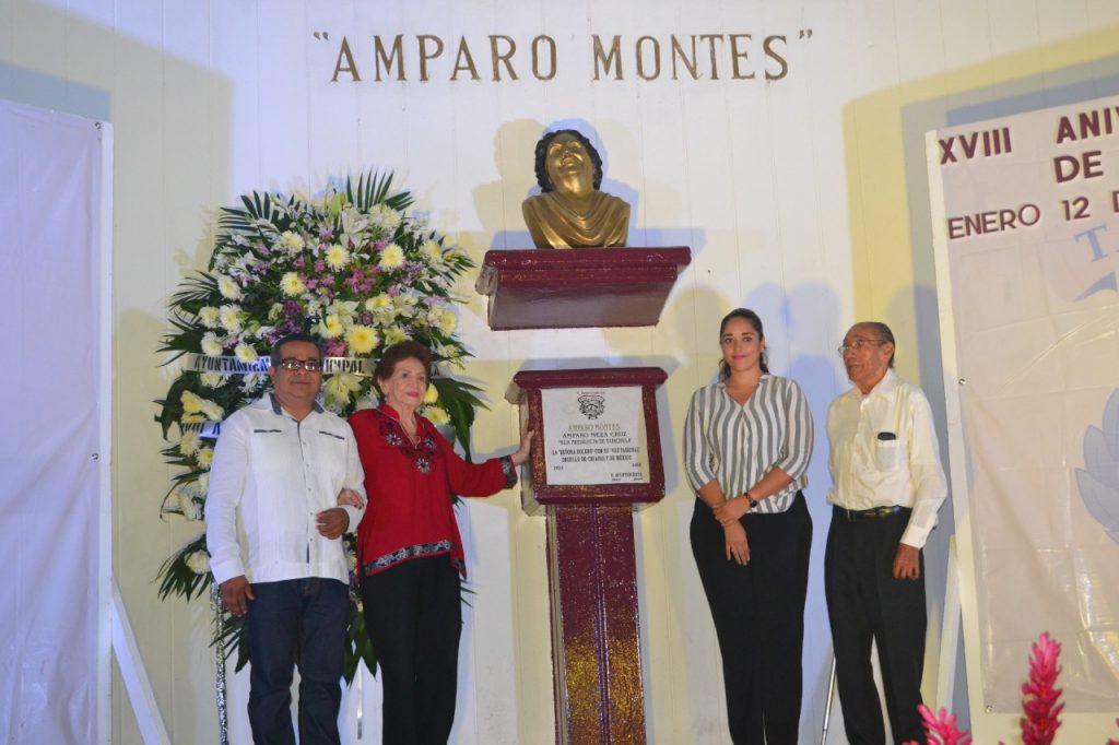 Ayuntamiento recuerda a la Señora Bolero Amparo Montes en su XVIII Aniversario Luctuoso