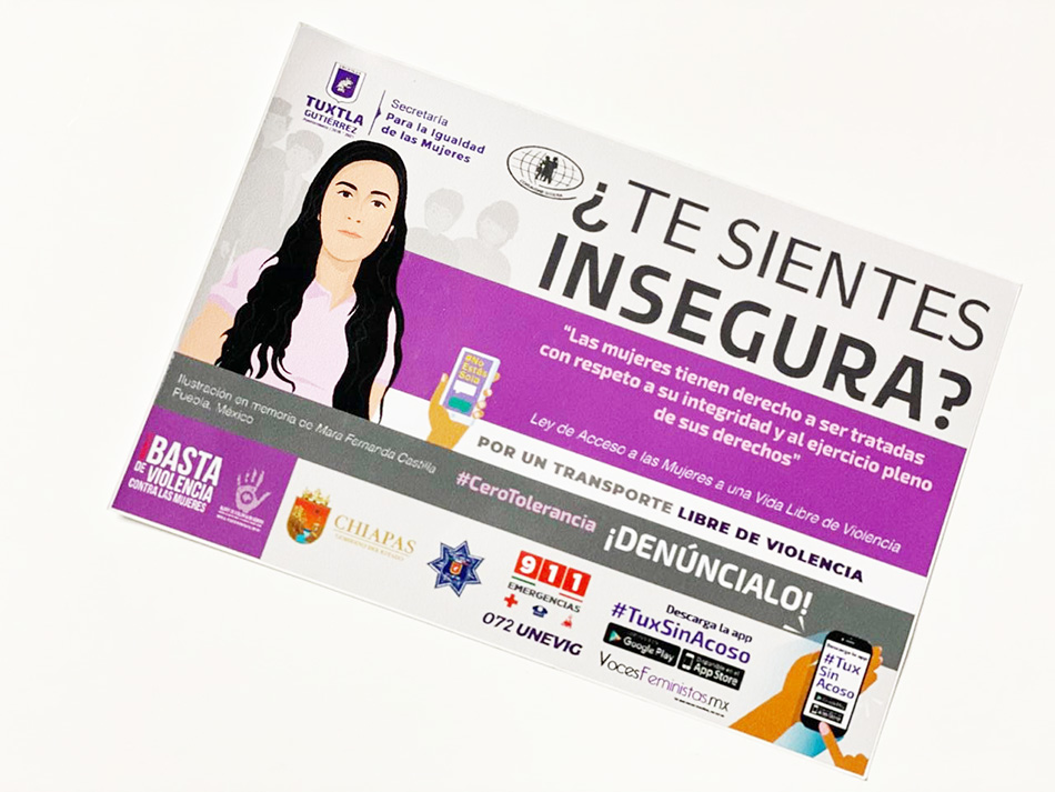 Ayuntamiento tuxtleco promueve el uso de la aplicación #TuxSinAcoso