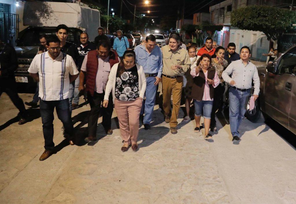 Carlos Morales Vázquez verifica culminación de obras en colonias de Tuxtla Gutiérrez