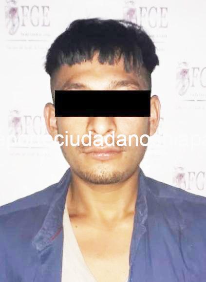 Detiene Fiscalía a feminicida en Ostuacán