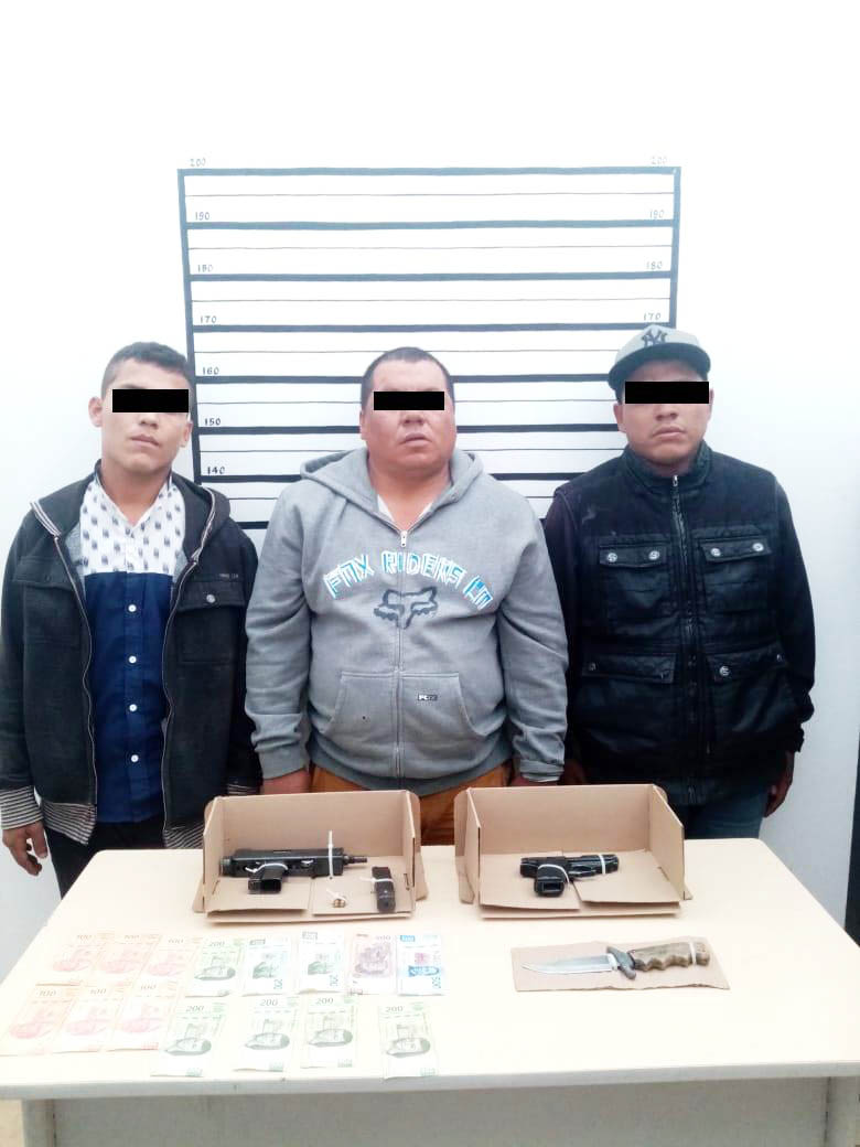Detiene Fiscalía a tres por robo con violencia en Comitán