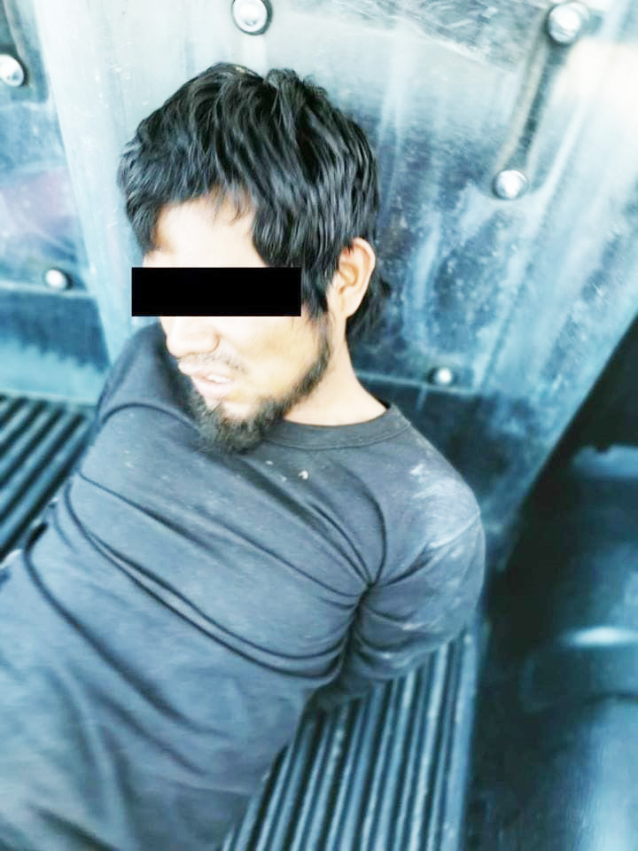 Detienen a hombre por robo a casa habitación en San Cristóbal