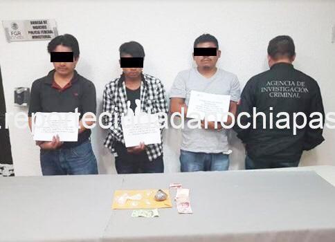 Detienen a narcomenudistas en Chiapa de Corzo, son responsables de la balacera en días pasados