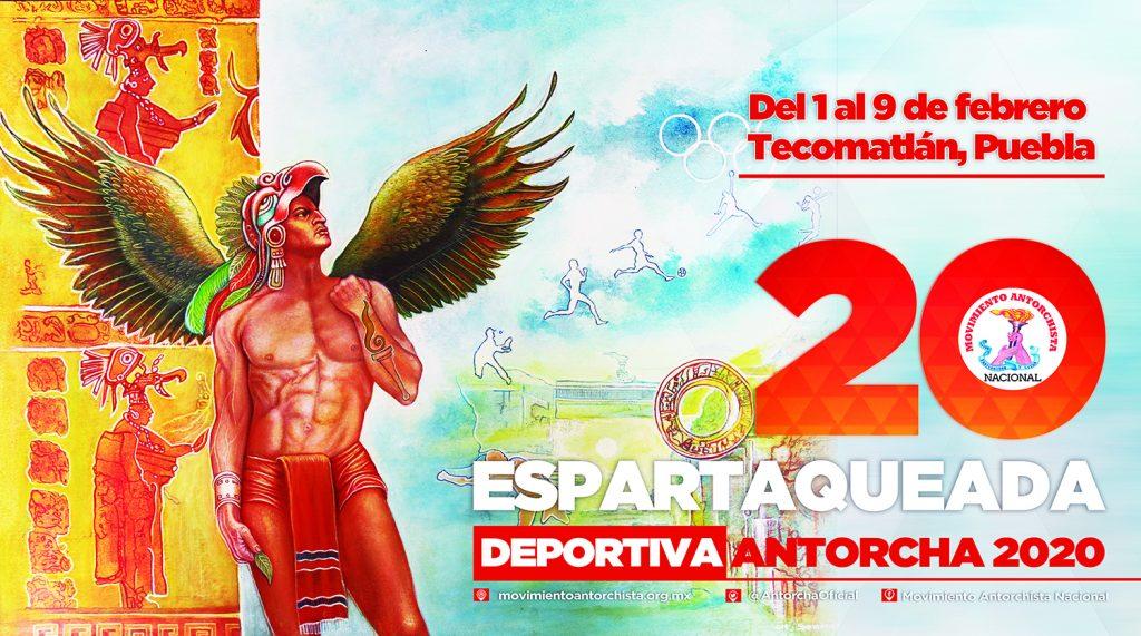Emiten convocatoria para la Espartaqueada Deportiva 2020