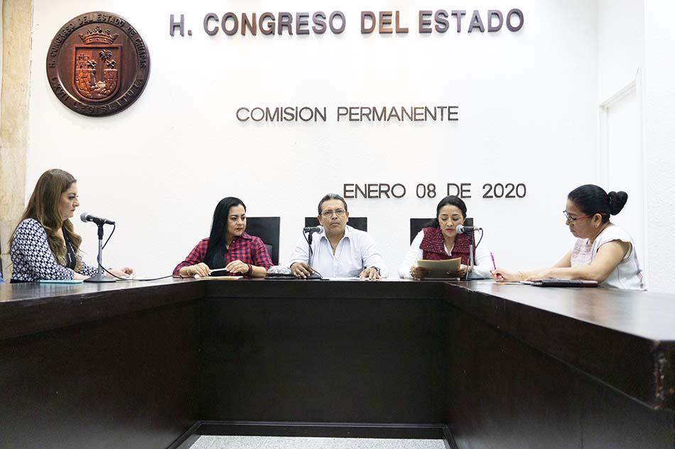 En el Congreso turnan a comisionesparlamentarias diversas disposiciones