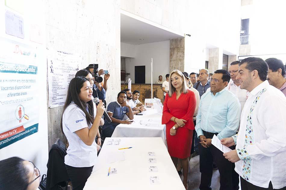 Feria del empleo, una herramienta para todos Ocampo Olvera