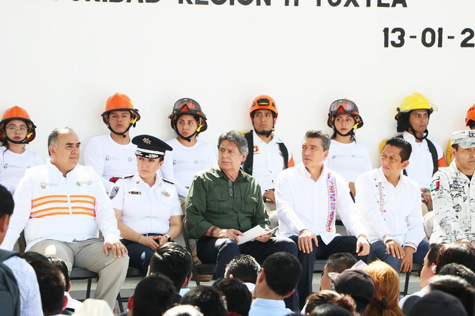 Gobernador Rutilio Escandón Cadenas encabeza reunión con alcaldes para la prevención y combate de incendios 2020