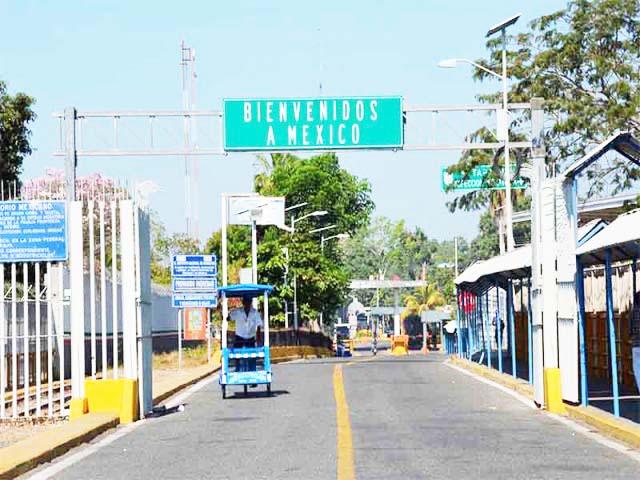 Han ingresado a México por Chiapas 3,621 migrantes