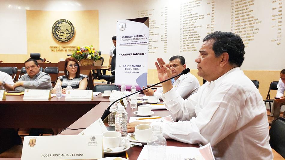 Histórico Conversatorio en el Poder Judicial del Estado de Chiapas