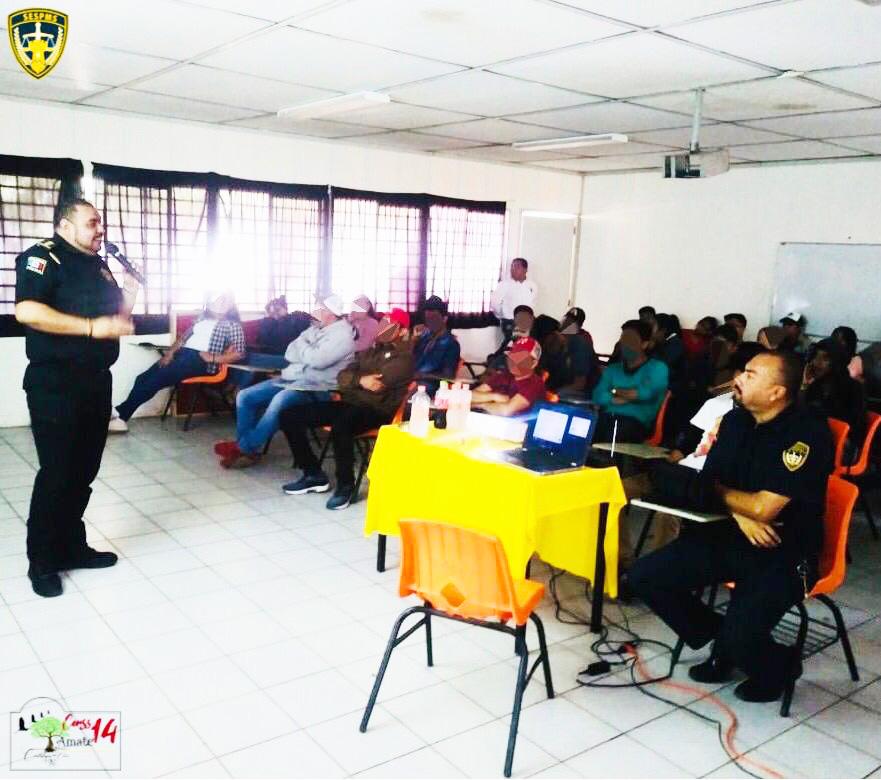 Imparte SSyPC plática de prevención del delito en Universidad Antonio Narro