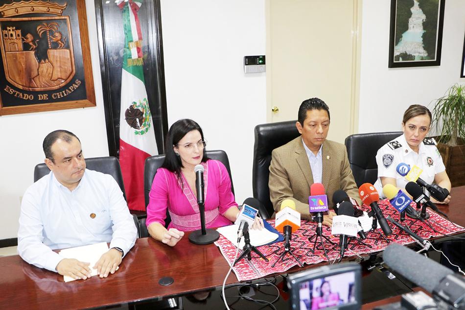 Informa fiscal avances de investigación de últimos hechos violentos en Chiapas