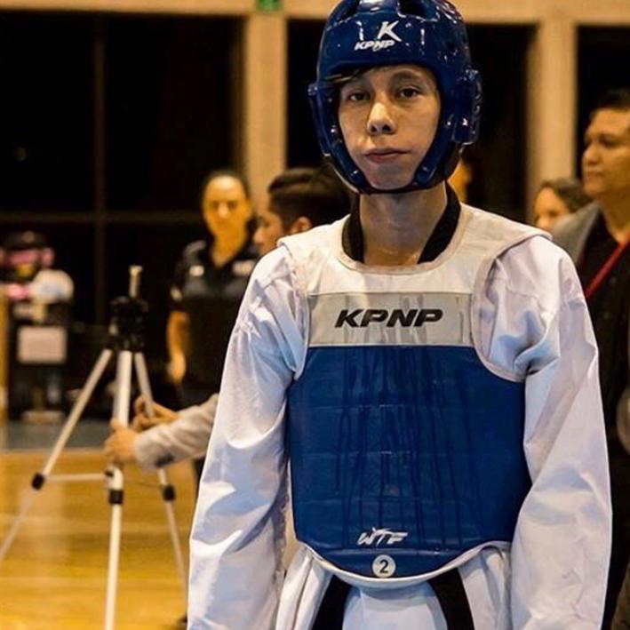 Jorge Hernández convocado por la Federación Mexicana de Taekwondo para concentrar en el CNAR