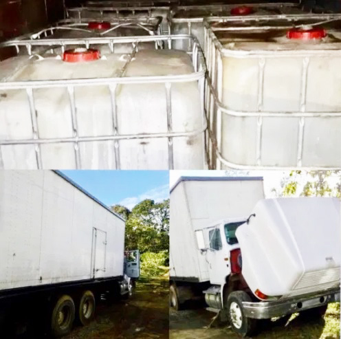 Ocho mil litros de combustible incautados en Rincón Chamula