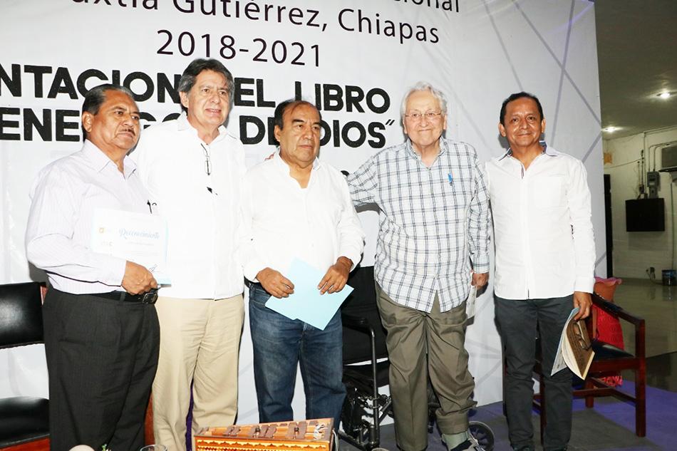 """Presentan en Tuxtla Gutiérrez el libro """"Los enemigos de Dios"""" de Alfredo Palacios Espinosa"""