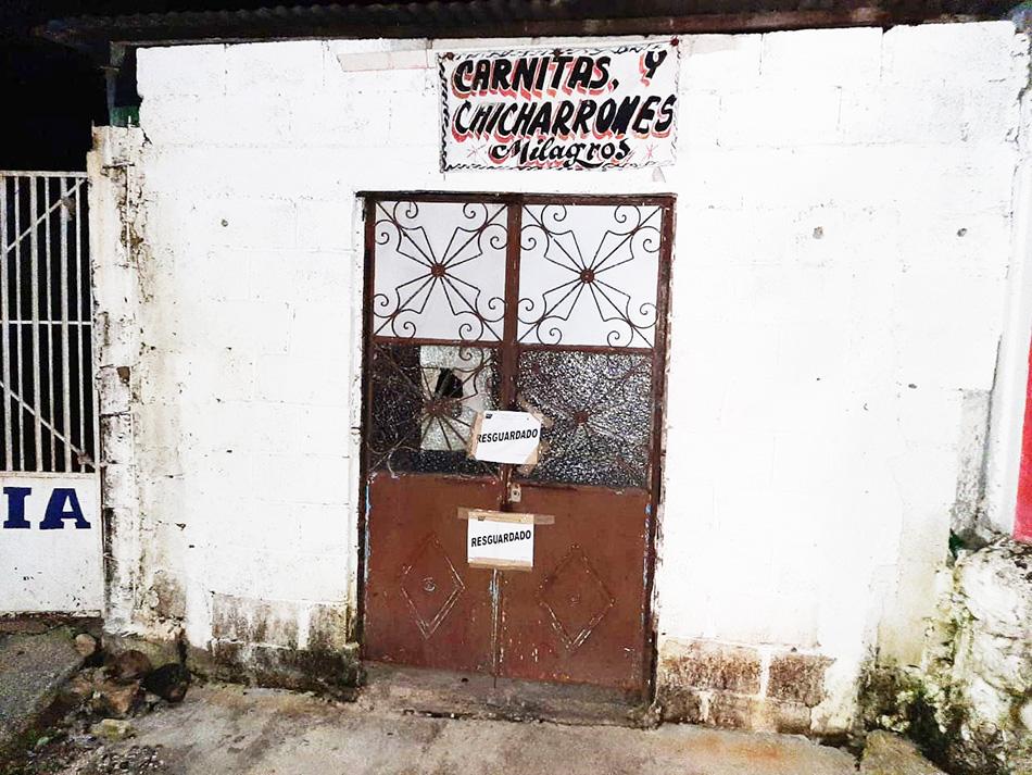 Realiza Fiscalía operativo en bares y cantinas en Palenque