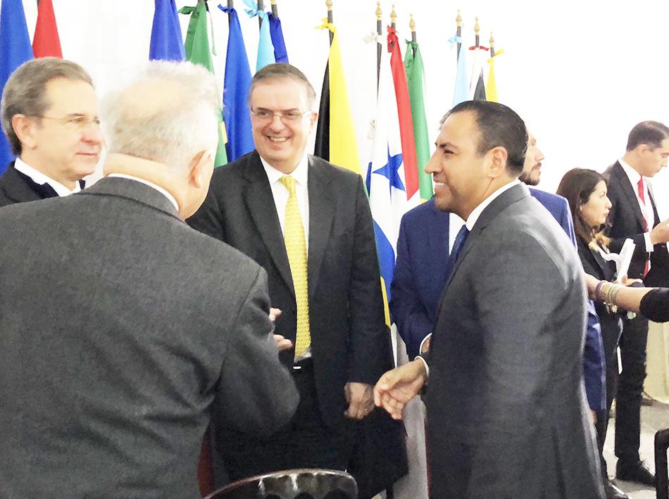 Reconoce ERA al canciller mexicano por nuevo cargo al frente de la CELAC