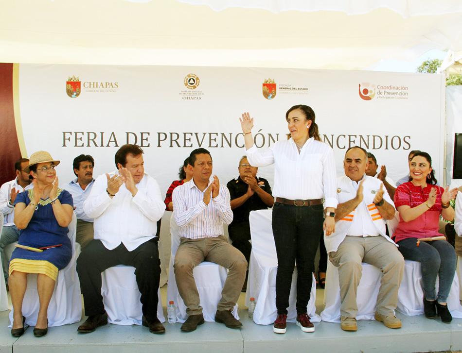 Se garantiza la seguridad en la Feria Villaflores 2020 Gabriela Zepeda