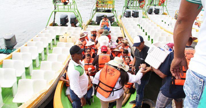 Se restablece actividad turística náutica en el Cañón del Sumidero