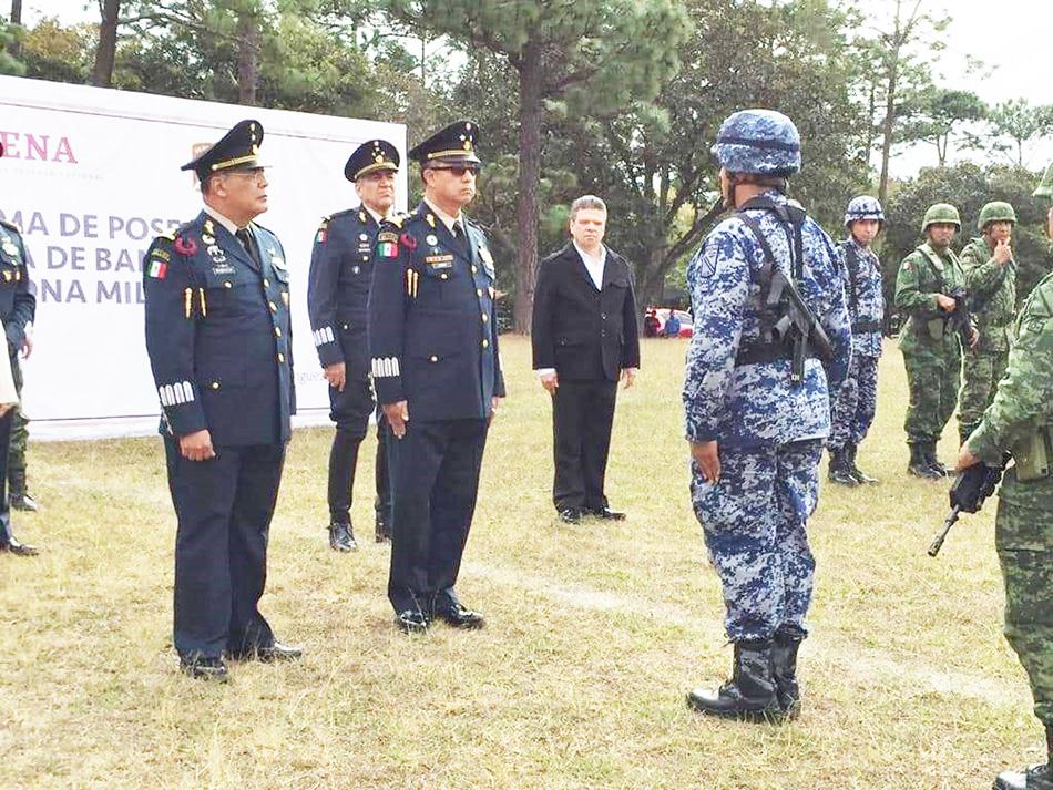 SEDENA toma protesta a nuevo comandante de la 39 zona militar