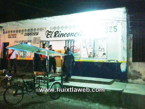 Sin horarios bares y cantinas de Huixtla