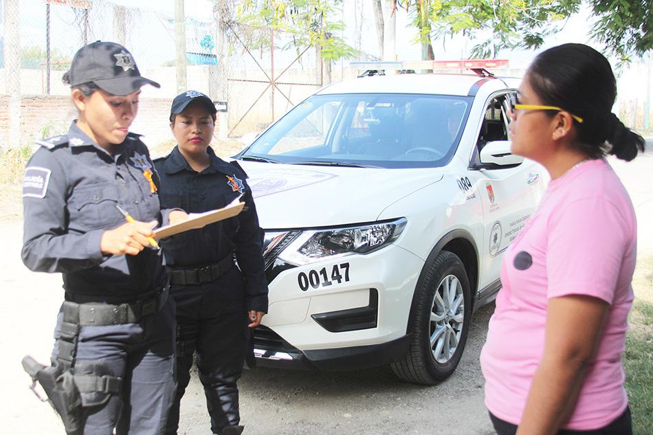 SSyPC implementa acciones para la atención de alerta de género