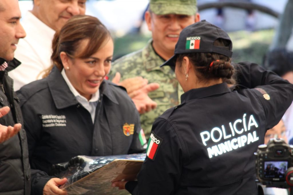 Titular de SSyPC refrenda compromiso de trabajar por la seguridad de la población
