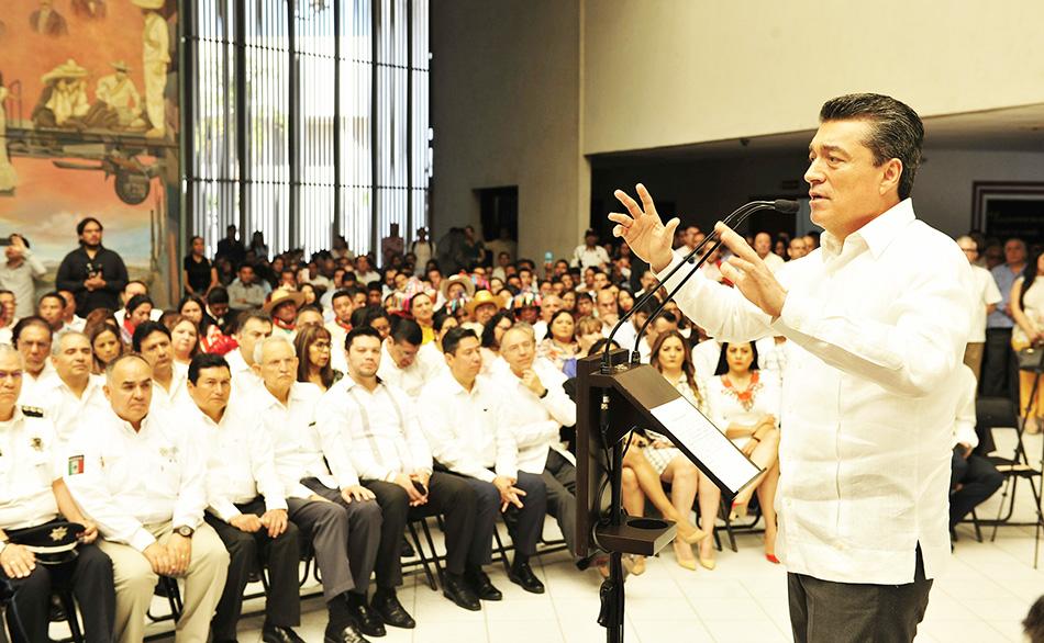 Trabajo eficiente y en unidad que consolide un mejor sistema de justicia para el pueblo Rutilio Escandón