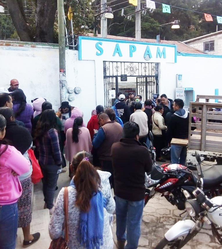 Tras 2 semanas sin agua, colonos exigen compostura de bomba