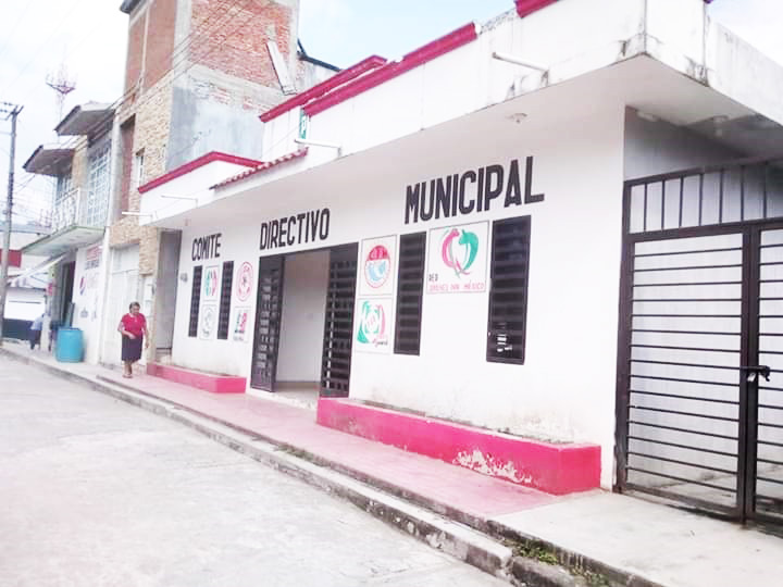 Ven a un PRI decaído en Huitiupán