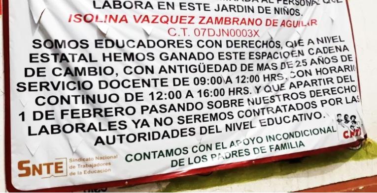 ¡Otro golpe a familias! pretenden quitar servicio de guardería en preescolar