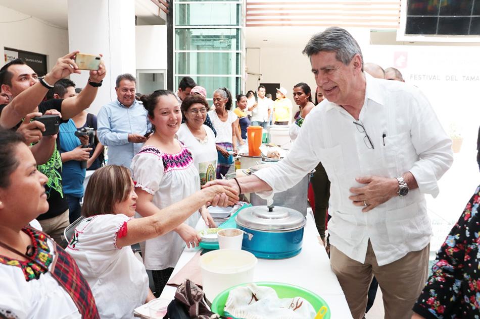 Ayuntamiento capitalino realiza Tradicional Feria del Tamal Tuxtleco