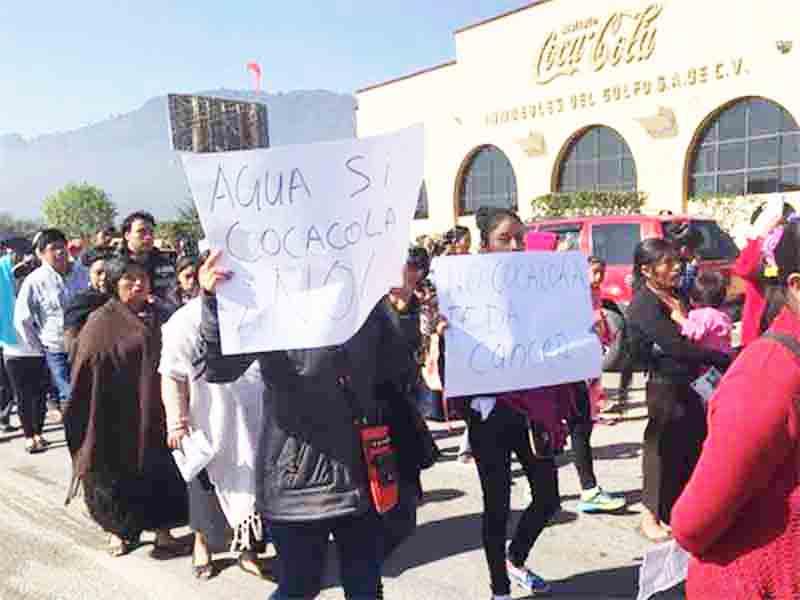 Coca Cola recorre Chiapas en búsqueda de agua, alertan ciudadanos