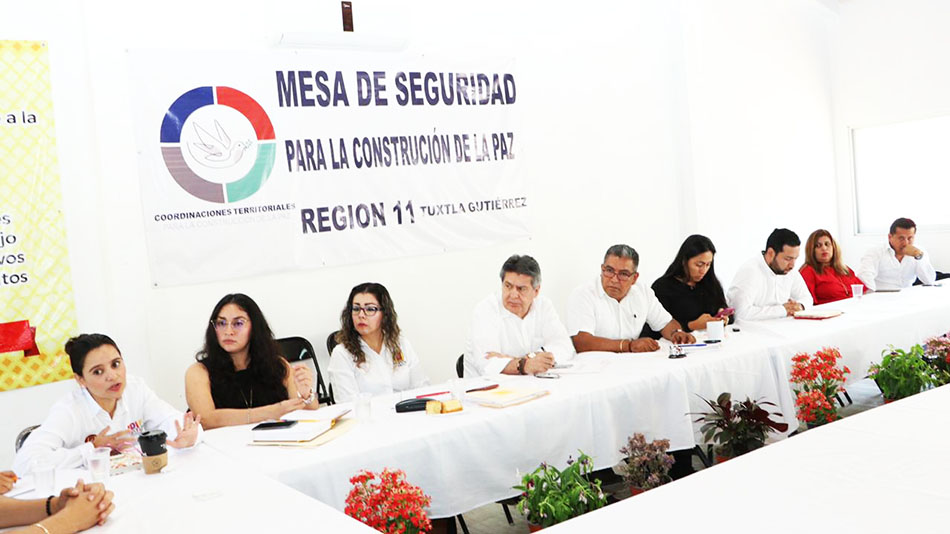 Conjuntan esfuerzos para atender la violencia familiar y de género en Tuxtla Gutiérrez