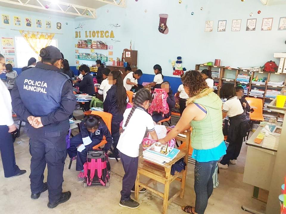 Continúa operación mochila en instituciones educativas