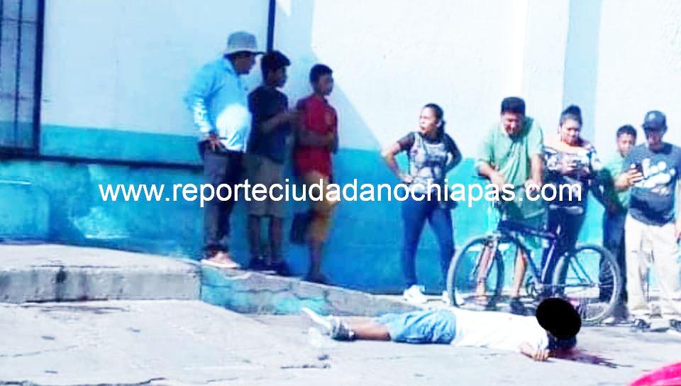 De 6 impactos de bala fue ejecutado «La Sombra», limpiador de calzado en Arriaga