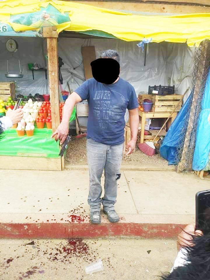 Hombre pretendía quitarle la vida a una menor en pleno centro de San Juan Chamula