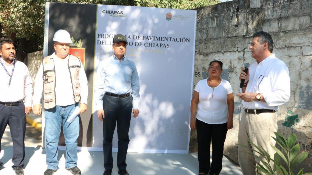 Inaugura Rutilio Escandón y Carlos Morales vialidad que comunica a La Salle y la colonia Pensil en Tuxtla