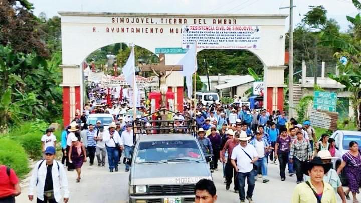 Preparan marcha por la seguridad en Simojovel