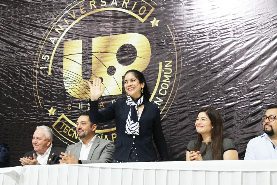 Reconoce Bonilla Hidalgo excelencia académica de la Universidad Politécnica de Chiapas