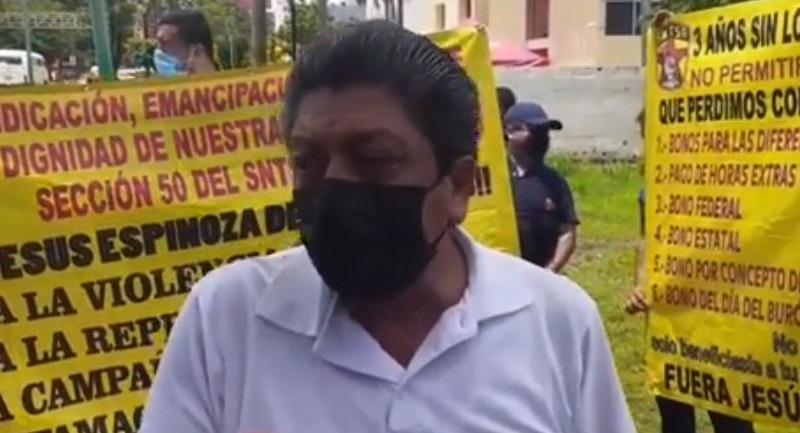 Confrontación entre dirigencias estatal y de Tapachula del Sindicato de Salud