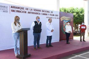 Arranca Semana Nacional de Vacunación Antirrábica Canina y Felina en Tapachula