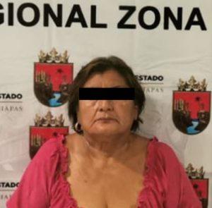 FGE ejecuta orden de aprensión en contra de Matilde N, alias La Loba, por Ejercicio Abusivo de Funciones en Suchiate