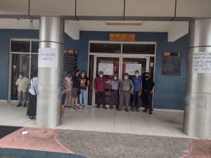 Más protestas en Cacahoatán, exigen concluir obra abandonada en escuela y pagos a personal de PC