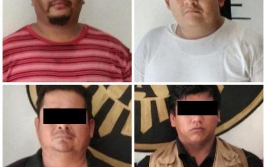 Asegura FGE drogas y detiene a cuatro personas en Tapachula