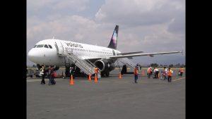 Aumentan asientos en vuelos de salida de Tapachula hacia el centro, occidente y norte del país