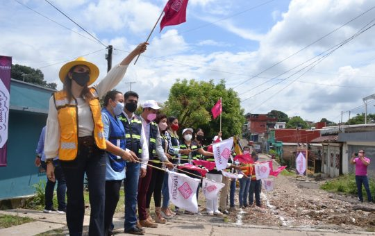 Ayuntamiento de Tapachula inicia obras de pavimentación en colonias 5 de Febrero y Barrio Nuevo