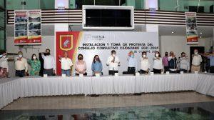 Carlos Morales instala formalmente el Consejo Consultivo Ciudadano 2021-2024 en Tuxtla