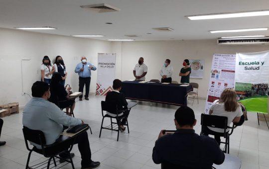 Certifica SS en Tapachula 106 escuelas como espacios seguros en regreso a clases presenciales